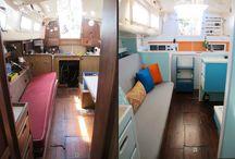 båt og camping