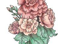 Flor tatoo