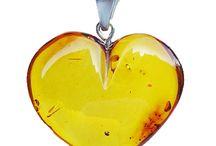 Romantic Jewellery. Love Gift. Amber Anniversary