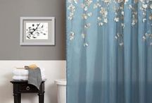 bathroom - shower curtain,accessory set / shower curtain,accessory set