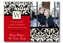 Holiday Photo Cards / A collection of some super cute and trendy Holiday and Christmas Family Photo Cards.