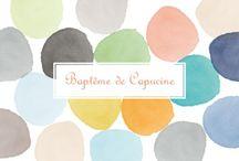 Idée bapteme ambiance pastel et colorée / 2ème ambiance / by sev0407