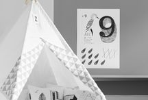 TYPE HYPE Kids / We love rooms for kids that are decorated with letters, numbers and signs.