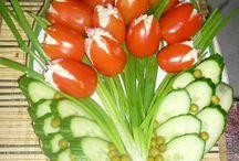 Süslü salatalar