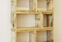 Armoires - tablettes en bois
