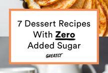 Sugarless Desserts