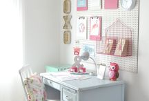 Girls Desk Area