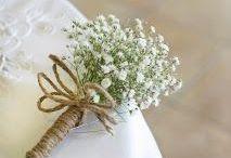 DIY Fleurs à petits prix / Des tutoriels ou idées de réalisations avec des fleurs à fabriquer pour son mariage.