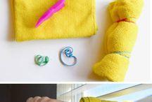 rengørings ideer