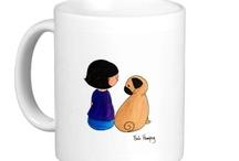 Pug Lover / For my loved pugs..Mitch, Starla & Mafalda :)