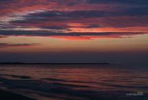 Colors of the sky - Kolory nieba / sunsets, colors of the sky