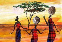 African batik