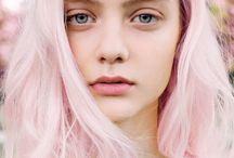 hair // pastel
