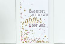 Baby Shower ideas / Sweet + Sparkly