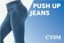 CYSM • PUSH UP JEANS - NEW COLLECTION-