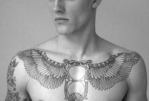 Hourglass Tattoos / http://fabulousdesign.net/hourglass-tattoos/