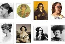 Visibilización de las aportaciones de las mujeres / Se pretende con este tablero visibilizar las aportaciones de las mujeres a la historia de la Humanidad.