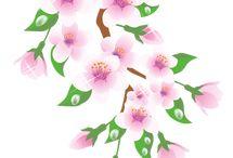 цветы для росписи