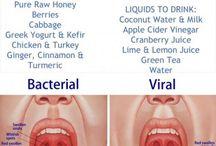 Sore throat helps