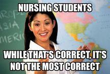 nursing school / by Sandy Szopa