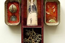 Shrines and Retablos / Mixed Media Art inspired by the Shrine