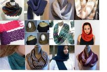 Crochet Infinity Scarf and Scarf Patterns / Patterns to crochet scarves. How to crochet a scarf and Infinity scarf patterns to crochet and crochet cowl scarf pattern and a variety of other crochet scarf patterns.