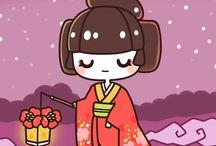 Dessins et illustrations japon