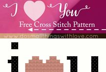 Valentines Cross Stitch Patterns