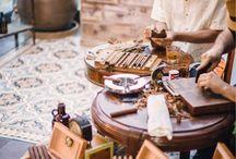 Wedding Details ♡ Cigar Bar / Especially for men, a cigar bar for after the ceremony and to celebrate. || Besonders für die Männer, eine Zigarren Bar für nach der Zeremonie oder zum Feiern.