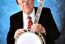 Earl Scruggs and His banjo. / Bluegrass music
