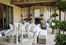 Living Inside Out / Taking the indoor living outside. Patios, terraces, cabanas.