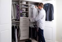 Closet Organizers / Our complement of closet organizers is the most comprehensive in Canada. We manufacture three different closet systems that are sure to fit any budget.