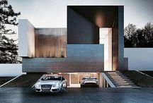 garages and entrances