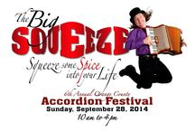 2014 BIG SQUEEZE ACCORDION FESTIVAL / The 6th annual Big Squeeze Accordion Festival at the OC Market Place combined music and the first Octoberfest Experience together on one day.