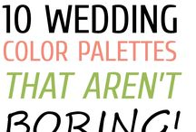 Color Ispiration / Color Ispiration for your wedding