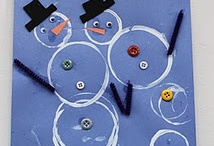 Preschool Snowman Crafts / by Christy Price