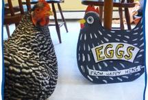 Chicken coop signs
