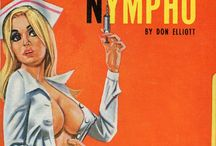 Vintage sleazy nurses / doctors / by Incredible Finds