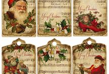 Christmas Labels, Tags