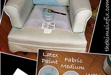 paint upholstered furniture