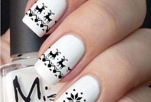 Winter nail idea
