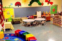 Classroom Eric Carle theme