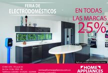 Feria de Electrodomésticos / Hasta 25% de descuento hasta el 30 de junio 2016