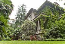 I NOSTRI SUCCESSI - Villa con parco / Nel pieno centro di Varese, in un meraviglioso giardino proponiamo in vendita con incarico in esclusiva Villa Zanotti, una splendida dimora costruita nei primi del novecento circondata da un parco di 3.600 mq con alberi secolari.