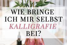 Schriften & Kalligraphie