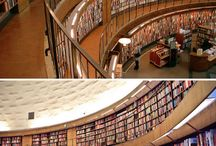 Library Buildings / Different Library Buildings around the world