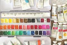 I love paint palettes!