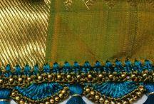 saree knot