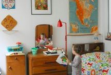 Retro Kids Room / First room retro/vintage style