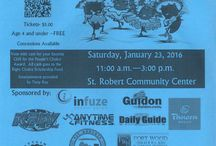Event Flyers / Flyers for events that take place in Pulaski County, MO.  / by Pulaski County Tourism Bureau & Visitors Center